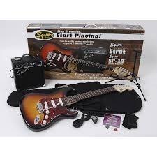 Guitarra Eléctrica Fender Squier Strat
