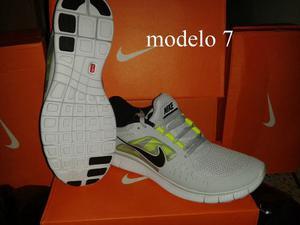 Zapatos Deportivos Caballero Nike Free Run Talla 7us Al 11us