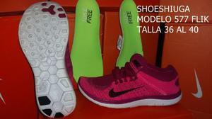 Zapatos Deportivos Nike Flyknit Run Unico Color