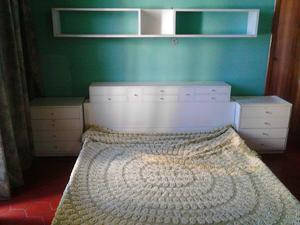 cama queen madera