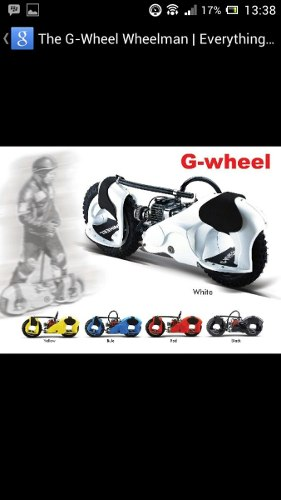 Patineta Con Motor A Gasolina Gwheel 50cc