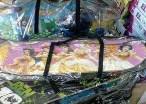 Patineta De Princesas Con Kit De Protección Para Niñas
