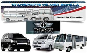 Servicio De Transporte Ejecutivo A Nivel Nacional