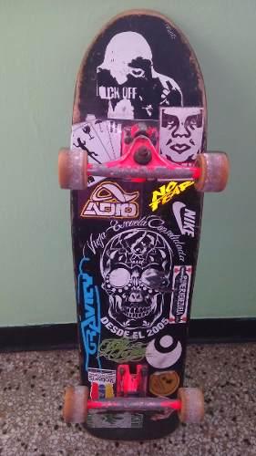 Tabla De Patineta Marca Vec Original Skate Sk8 Longboard