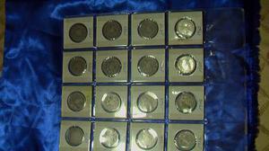 Coleccion Semi-completa De Monedas De Dos Bolivares De Plata