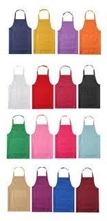 Delantales De Chef De Colores En Dril