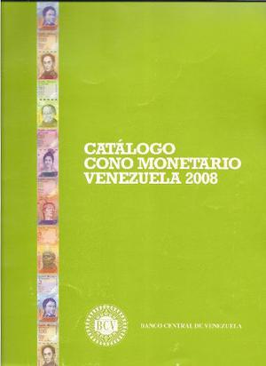 Libro Catalogo Cono Monetarios Venezuela