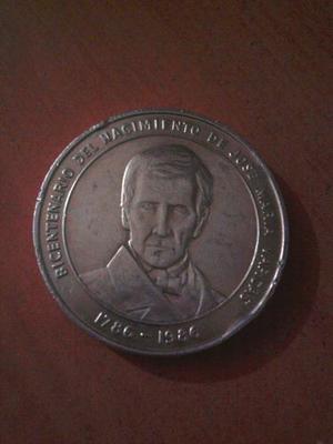 Moneda Conmemorativa Venezuela  Jose Maria Vargas