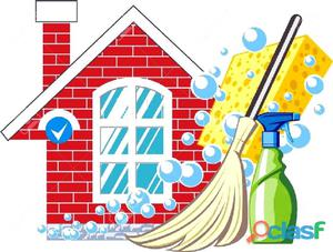 Se limpian casas apartamentos u oficinas
