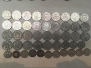 Tremenda Coleccion De 80 Monedas Antiguas De Venezuela
