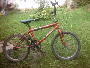 Bicicleta rin 20 rines de aluminio tipo cross