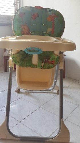 Silla De Comer Fisher Price Rematooooo