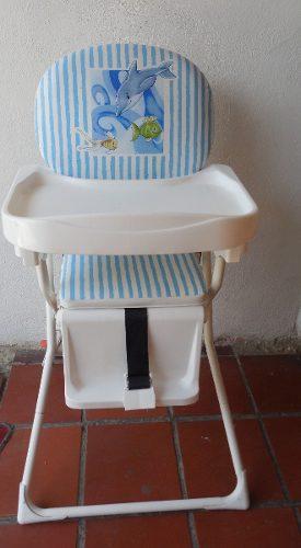 Silla De Comer Unisex Marca Master Kids