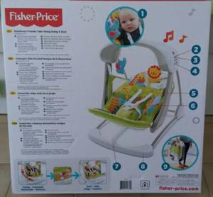 Silla Mecedora Fisher Price 2 En 1 Nueva