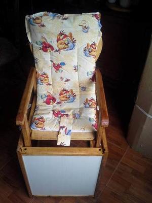 Silla, Mesa Y Escritorio Para Bebes De Madera