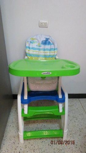 Silla Para Comer Para Bebe 2 En 1 Marca Cute Babies