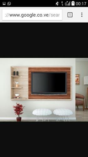 Centro De Entretenimiento, Mueble Modernos Para Tv