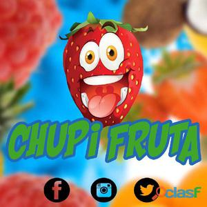 Helados Chupi Fruta Al Mayor 100% Frutas Naturales