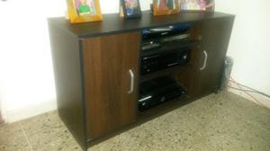 Mueble Para Tv 46 Casa Lista Wengue