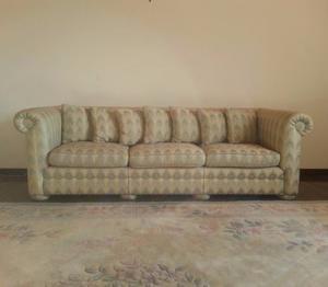 Mueble/sofa De 3 Puestos Antiguo Impecable