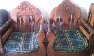 Vendo Muebles De Madera Maciza En Excelente Estado!!!!