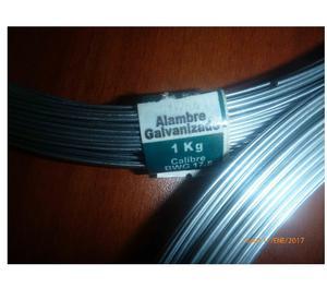 Alambre Galvanizado BGW kg