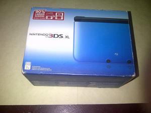 Nintendo 3ds Xl Color Azul/negro Nuevo En Su Caja