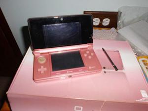 Nintendo Ds 3d Doble Cámara Con Wifi Rosado