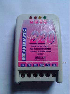 Protector Para Equipos De Refrigeración Breakermatic 220v