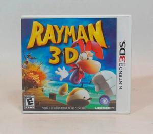 Videojuego Original Rayman 3d Para Nintendo 3ds Usado