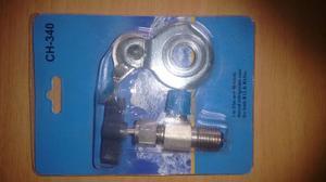 Válvula Universal Para Latas Desechable De 134a R22 R12