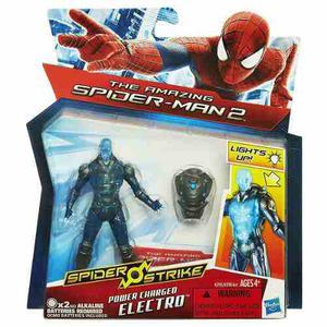 Electro Spider Strike. Original De Hasbro
