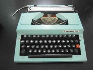 Maquina De Escribir Marca Omega