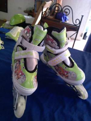 Patines Liniales Con Luces