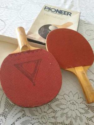 Raquetas De Pin Pong O Tenis De Mesa