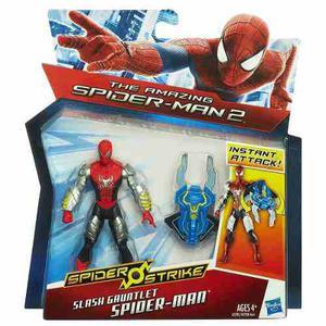 Spiderman Slash Gauntlet. Spider Strike. Original De Hasbro