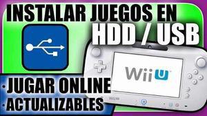 Chip Wii U Todas Las Versiones + Online + 3 Sorpresas