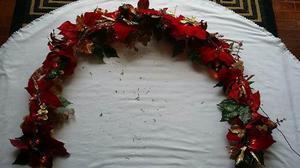 Guirnalda De Navidad Con Luces (190 Cm)