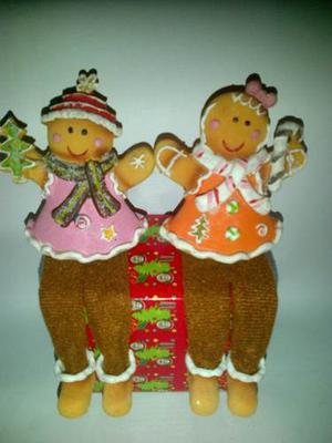 Hermoso Combo De 2 Galleticas De Navidad Con Paticas A-03