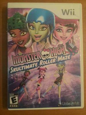 Juego De Monster High Y Princesas Para Wii