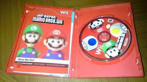 Juego Super Mario Bros Para Nintendo Wii.