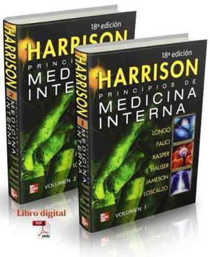 Libro de Medicina Interna Harrison