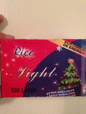 Luces De Navidad Tipo Arroz Al Mejor Precio!!!