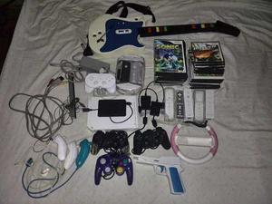 Nintendo Wii Chipiado Con Todo Lo Que Ve En La Foto