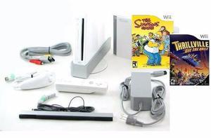 Nintendo Wii Como Nuevo + Chip + 2 Juegos Originales