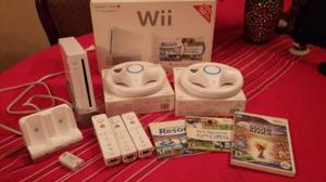 Nintendo Wii Con 4 Juegos Originales Y Accesorios - Oferton