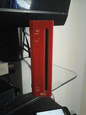 Nintendo Wii Rojo Chipeado (sin Controles)