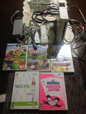 Nintendo Wii Usado + Juegos Originales + Tabla Wii Fit