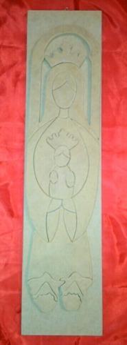 Virgenes en madera grandes en Mdf
