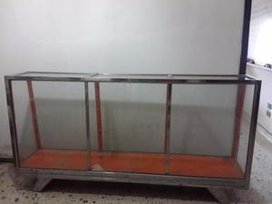 Vitrina Exhibidora 2mts Largo X 90cm Alto X 50cm Ancho